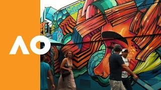 Experience the artwork at the AO | Australian Open 2019