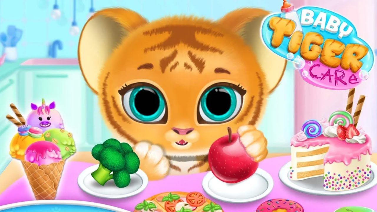 Baby Tiger Care (by TutoTOONS) - My Cute Virtual Pet Friend