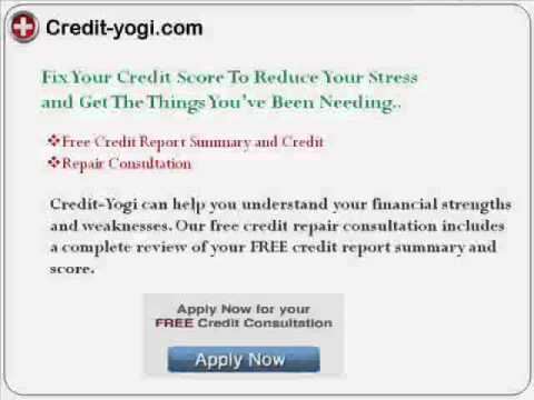 How to Fix Bad Credit Score - Get Free Credit Review by a Paralegal