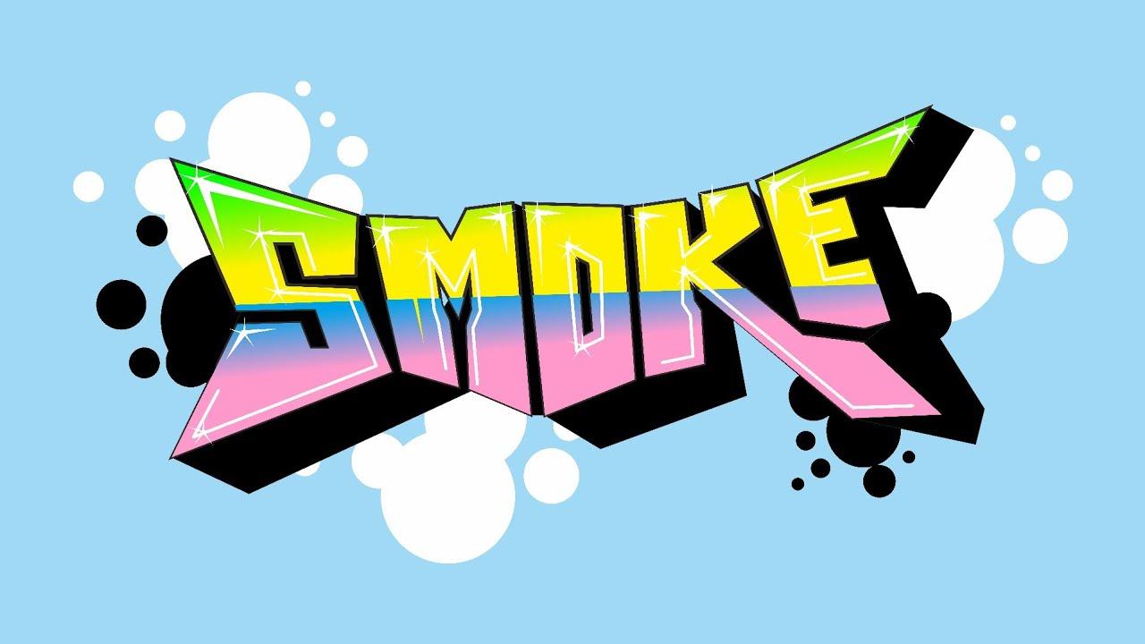 Membuat gambar graffiti dengan aplikasi corel draw x7 smoke