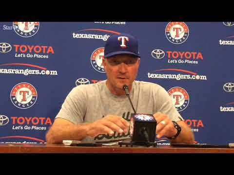Jeff Banister explains why he stuck with Alex Claudio