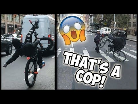 THE PROPER WAY TO SWERVE COPS!