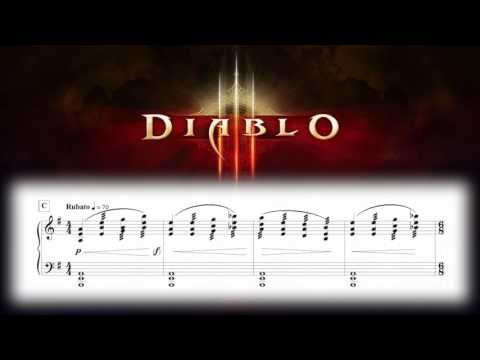 Diablo III - And The Heavens Shall Tremble (Piano Sheet Music)