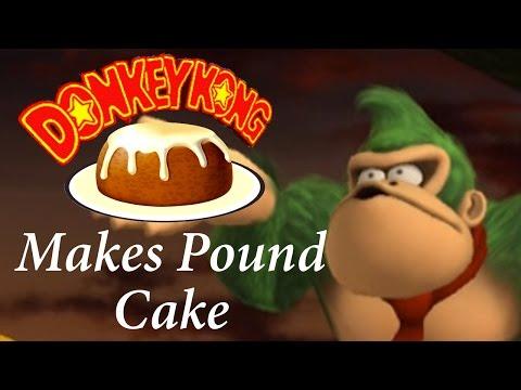Donkey Kong Makes Pound Cake