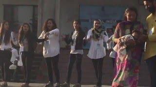 Skit performed by the NSS volunteers on Digital India Workshop at CUJ