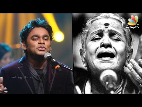 AR Rahman pays tribute to MS Subbulakshmi at UN concert | Latest Tamil Cinema News