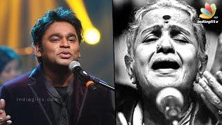AR Rahman pays tribute to MS Subbulakshmi at UN concert   Latest Tamil Cinema News