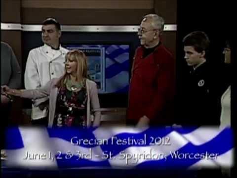 Grecian Festival 2012 Greek Celebrity Chefs