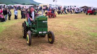 Smallholder Tractors Vintage Agricultural Machinery Club Rally Strathmiglo Fife Scotland