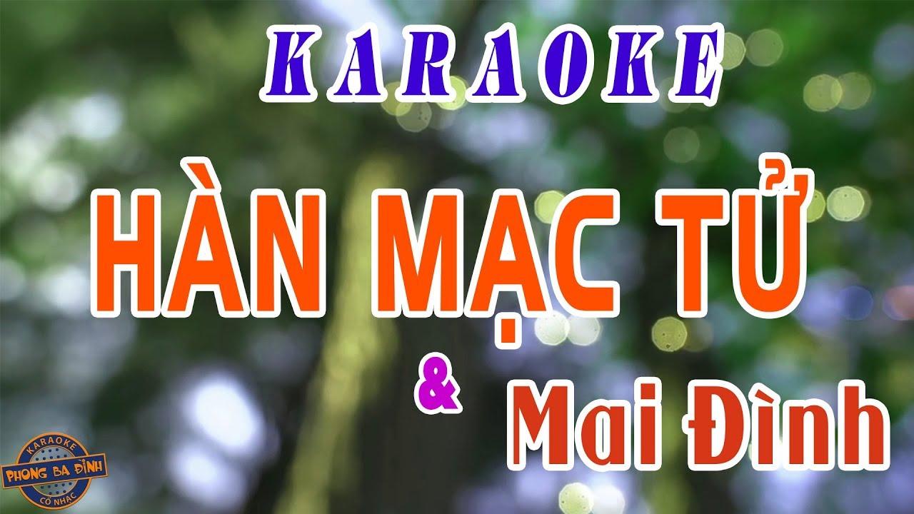 han mac tu karaoke thanh tuyen