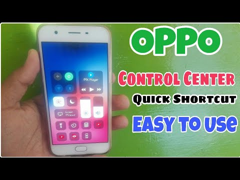 IPhone x Control Center For OPPO Vivo Samsung Hawaii . Customize OPPO smartphone With One Click