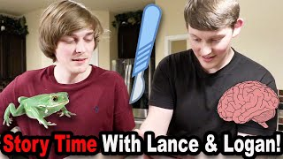 Story Time With Lance & Logan!!!
