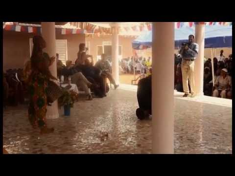 Guinea Djembe - USA Embassy Ceremony 2014