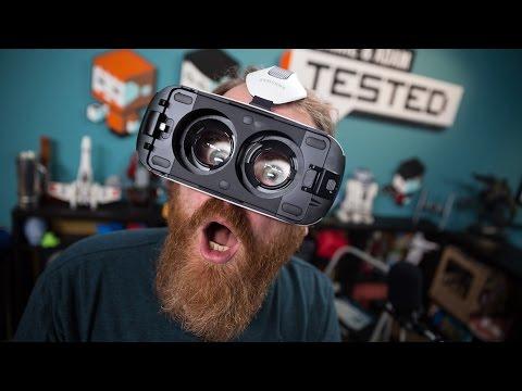 Testing the Samsung Gear VR: Game Demos