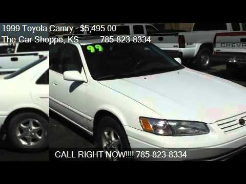 1999 Toyota Camry Xle For Sale In Salina Ks 67401 Youtube