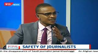 Concerns over the safety of Journalists in Africa | Bottomline Africa 17th October 2018