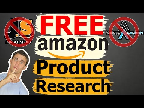 Free AMAZON PRODUCT RESEARCH Method (Beats Jungle Scout & Viral Launch 100%!)