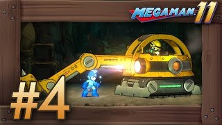 Mega Man 11 Walkthrough with No Commentary Nintendo Switch Gameplay...