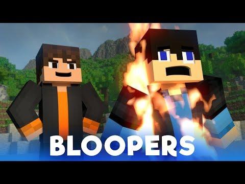 Survival Island: BLOOPERS (Minecraft Animation)
