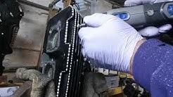 Diamond cutting my Honda Rebels engine parts.