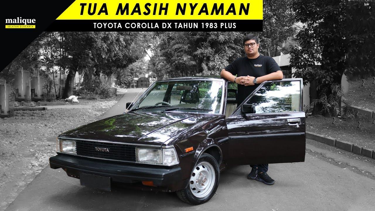 TOYOTA COROLLA DX TAHUN 1983 PLUS   TUA MASIH NYAMAN   REVIEW INDONESIA