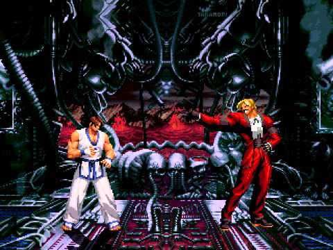 Terry,Robert,Kim VS Rugal Forms  (Terry  RELEASE !!!!)