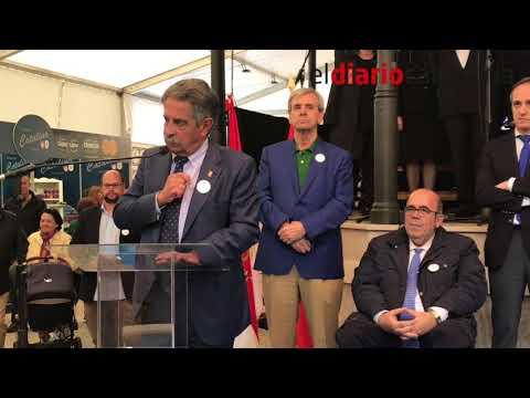 Acto inaugural de la Feria de la Anchoa de Santoña