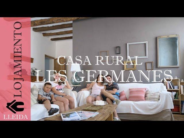 Casa Rural Les Germanes Gramuntell La Segarra