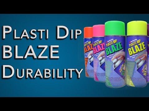 Plasti-Dip Blaze Durability: Test On Metal, Plastic, and Wood: Plasti Dip Review