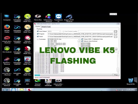 Unbrick } Lenovo Vibe K5 A6020a40 Dead Boot Repair Flashing Guide
