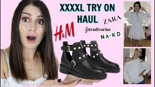KURZ AUSGERASTET  🤬💸 bei Zara, Na-kd, H&M & Co. l XXXL Try on HAUL