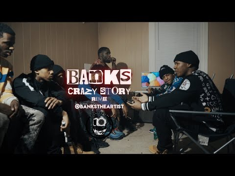 """Banks Benjamin - """"Crazy Story"""" Remix(OFFICIAL VIDEO) 🔥 ReProd. By KingLeeBoy @VisualsByAl"""
