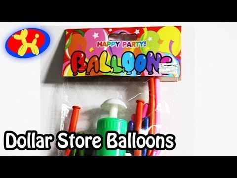 Dollar Store Balloons