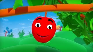 If I Were An Apple - English Nursery Rhymes - Cartoon/Animated Rhymes For Kids