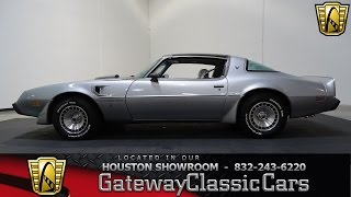 1979 Pontiac Trans Am Gateway Classic Cars #737 Houston Showroom