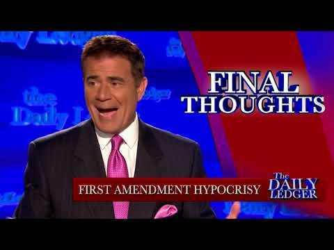 1st Amendment Hypocrisy: Using Free Speech to Deny Trump's Speech