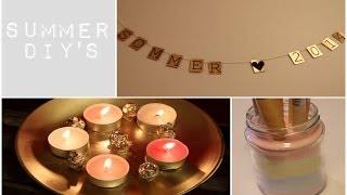 Sommer DIY's til rommet ditt⎮ Thumbnail