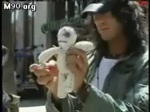 Criss Angel VooDoo Doll trick