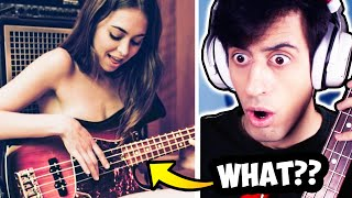 Riley Reid Plays BASS??
