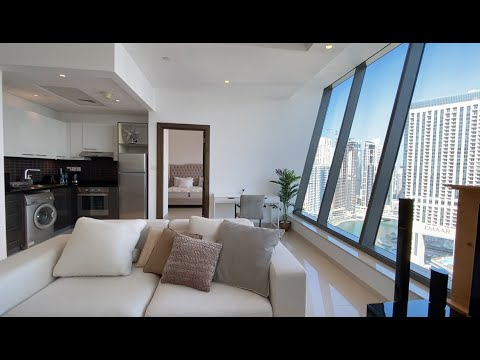 The Only 1BR Penthouse Apartment in Silverene Towers   Dubai Marina