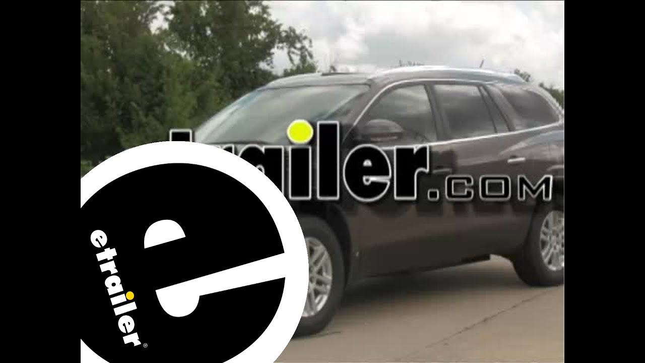 hight resolution of trailer wiring harness installation 2009 buick enclave etrailer com