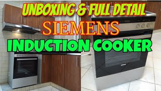 Siemens Induction cooker+ oven…