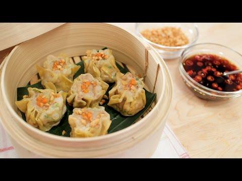 Shumai | Shrimp & Pork Dumplings Recipe | Kanom Jeeb ขนมจีบ – Hot Thai Kitchen!
