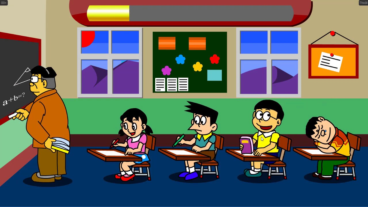 Game Doraemon Và Nobita Trả Thù   Mèo Máy Doremon, Nobita Chọc Phá.