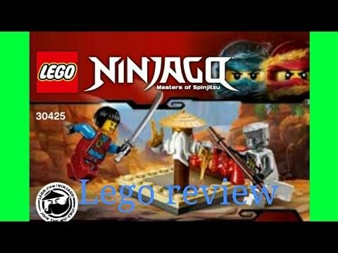 Lego Ninjago Wu cru training dummy polybag review - YouTube
