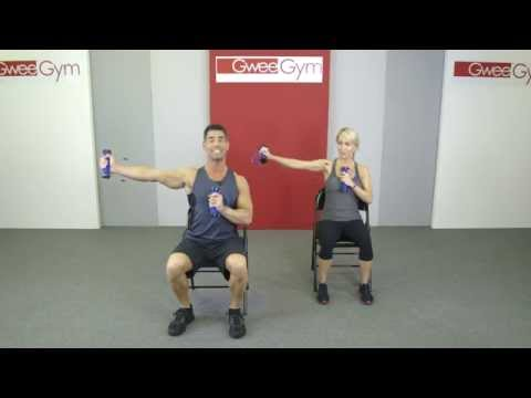 Home Care, Seated Wheelchair Work-Out with a Gwee Gym
