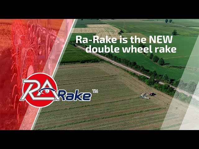 Ra-Rake is the new double wheel rake
