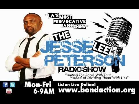 """Jesse Lee Peterson Radio Show on Soldiers ordered to Wear Fake Breasts and """"Empathy"""" Bellies"""