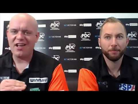 """Michael van Gerwen after Netherlands' RD1 win: """"I've lost to numpties before in this short format"""""""