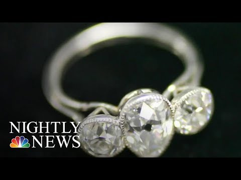 More Than 5,500 Titanic Artifacts Going On Auction | NBC Nightly News